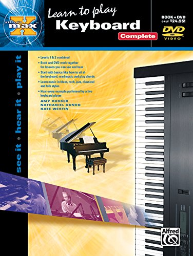 9780739042090: Alfred's MAX Keyboard Complete: See It * Hear It * Play It, Book & DVD (Sleeve) (Alfred's MAX Series)