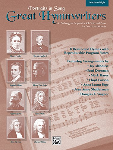 9780739042120: Great Hymnwriters (Portraits in Song): Medium High Voice