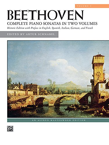 9780739042144: Beethoven: Complete Piano Sonatas in Two Volumes, Historic Edition with Preface in English, Italian, German, and French