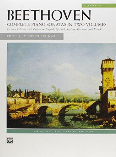 Sonatas: Alfred Masterwork Edition Volume 2: Beethoven; Ludwig van