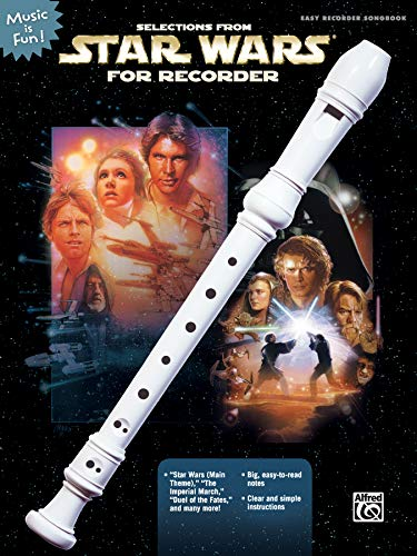 9780739042458: Selections from Star Wars for Recorder (Music Is Fun)