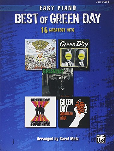 9780739042540: The Best Of Green Day 16 Greatest Hits Easy Piano