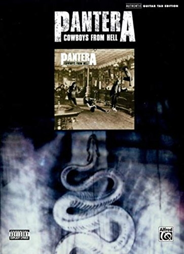 9780739042601: Pantera Cowboys from Hell Guitar Tab