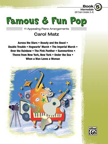 9780739042779: Famous & Fun Pop: 11 Appealing Piano Arrangements, Intermediate