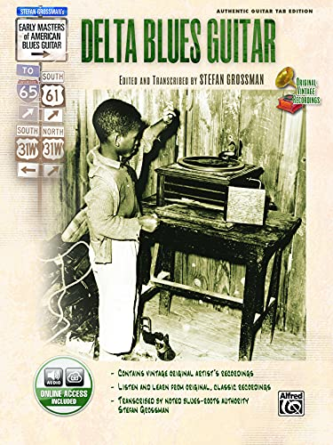 9780739042809: Delta Blues Guitar (Book & CD) (Stefan Grossman's Early Masters of American Blues Guitar)