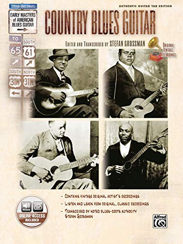 9780739042816: Country Blues Guitar (Book and CD) +CD (Stefan Grossman's Early Masters of American Blues Guitar)