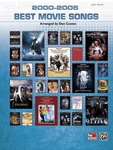 9780739042892: 2000-2005 Best Movie Songs (Easy Piano)