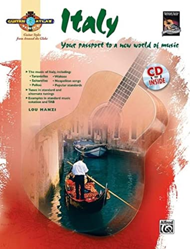 9780739043028: Guitar Atlas Italy: Your Passport to a New World of Music