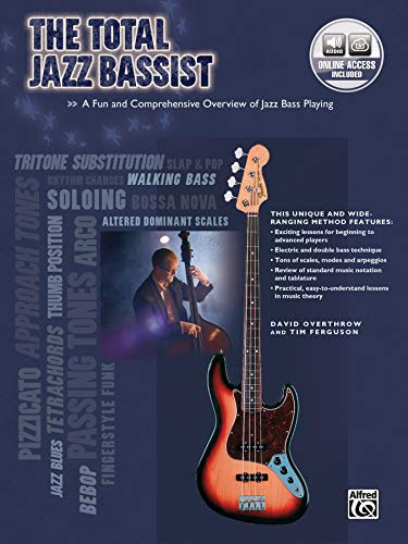 9780739043110: The Total Jazz Bassist: A Fun and Comprehensive Overview of Jazz Bass Playing, Book & CD (The Total Bassist)