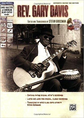 9780739043295: Early Masters Rev Gary Davis Blues Guitar Bk/CD (Stefan Grossmans Early Masters of American Blues Guitar)