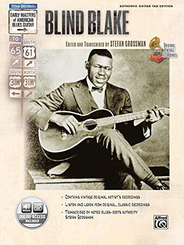 9780739043332: Stefan Grossman's Early Masters of American Blues Guitar: Blind Blake, Book & CD