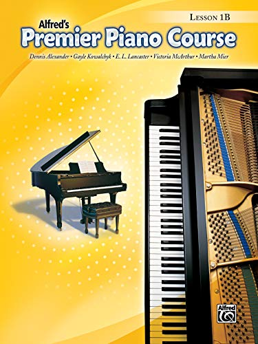 9780739043646: Premier Piano Course Lesson Book, Bk 1B