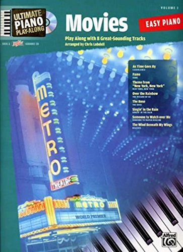 Ultimate Piano Play-Along: Movies Volume 1 Easy Piano Book And CD (0739043943) by Lobdell, Chris