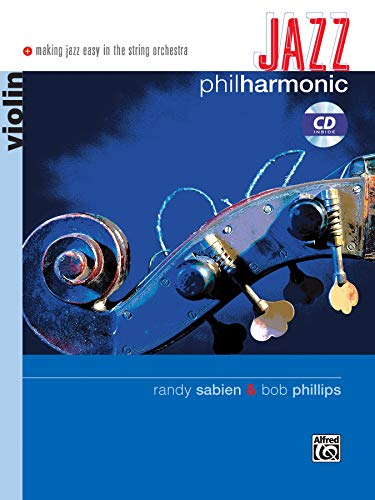 9780739044148: Jazz Philharmonic: Violin, Book & CD