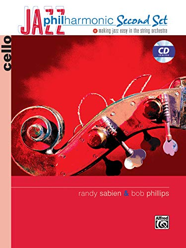 9780739044216: Jazz Philharmonic Second Set: Cello (Book & CD)