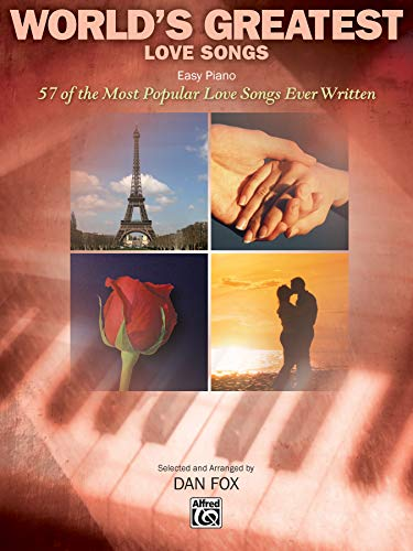 9780739044322: World's Greatest Love Songs: 57 of the Most Popular Love Songs Ever Written