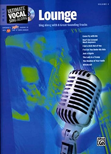 9780739044476: Ultimate Vocal Sing-Along Lounge: Male Voice, Book & Enhanced CD