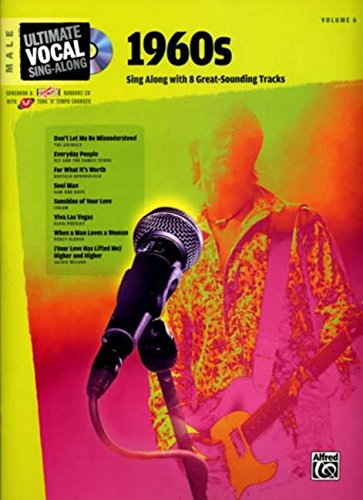 9780739044483: Ultimate Vocal Sing-Along 1960s: Male Voice, Book & Enhanced CD