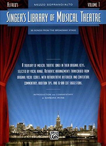 9780739044742: Singer's Library of Musical Theatre Mezzo Soprano/Alto Volume 1
