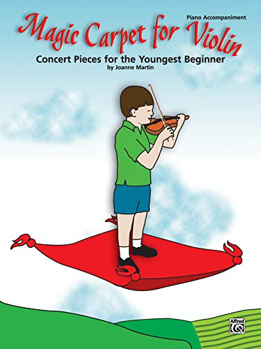 9780739044759: Magic Carpet for Violin: Concert Pieces for the Youngest Beginner: Piano Accompaniment