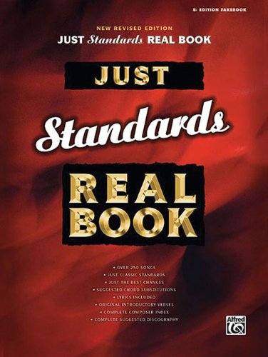 9780739044889: Just Standards Real Book (Just Real Books) B-flat Edition
