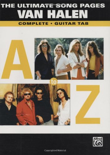 9780739044933: The Ultimate Song Pages Van Halen: A To Z Gtr Tab