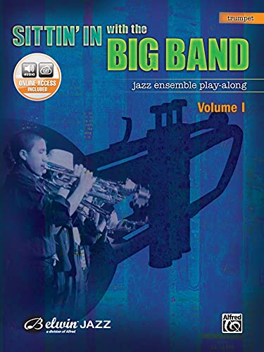 9780739045152: Sittin' In with the Big Band, Vol 1: Trumpet, Book & CD