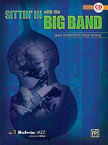 9780739045183: Sittin' In with the Big Band, Vol 1: Bass, Book & CD