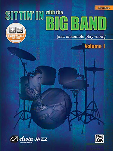 9780739045206: Sittin' In with the Big Band, Vol 1: Drums, Book & CD