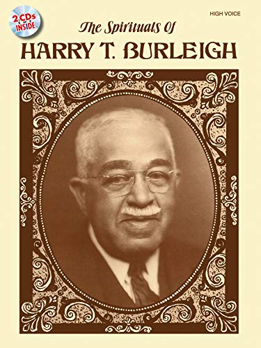 9780739045268: The Spirituals of Harry T. Burleigh: High Voice, Book & 2 CDs