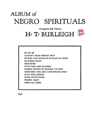 9780739045305: Album of Negro Spirituals: High Voice, Book & CD