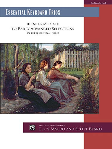 9780739045343: Essential Keyboard Trios: 10 Intermediate to Early Advanced Selections in Their Original Form, Comb Bound Book (Alfred Masterwork Edition: Essential Keyboard Repertoire)
