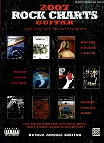 9780739045374: Rock Charts Guitar 2007 Deluxe Annual Edition: Authentic Guitar Tab (Gtab)