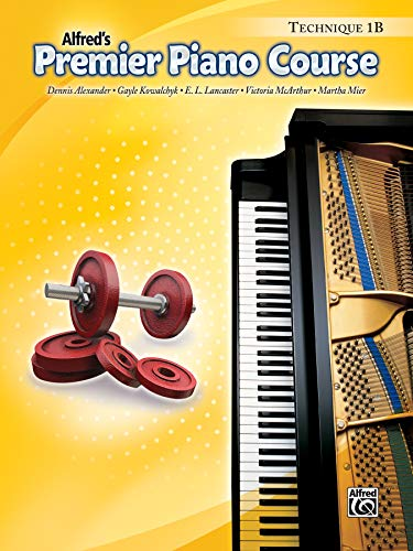 9780739045442: Premier Piano Course Technique, Bk 1B