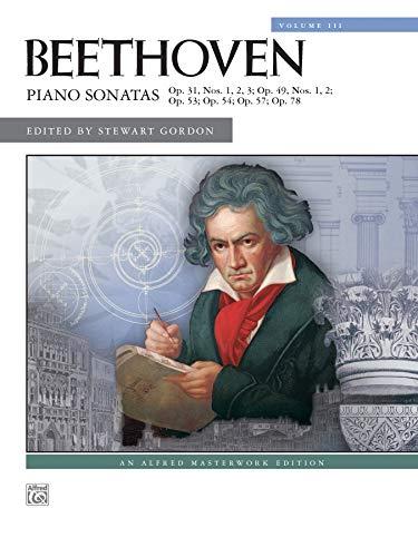 9780739045527: Beethoven -- Piano Sonatas, Vol 3: Nos. 16-24 (Alfred Masterwork Editions)