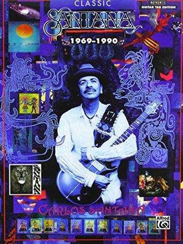 9780739045589: Classic Santana 1969-1990: Authentic Guitar TAB