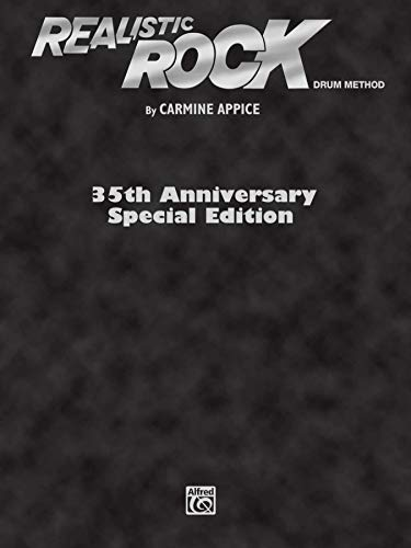 Realistic Rock: 35th Anniversary Special Edition, Book Enhanced CD (Paperback): Carmine Appice