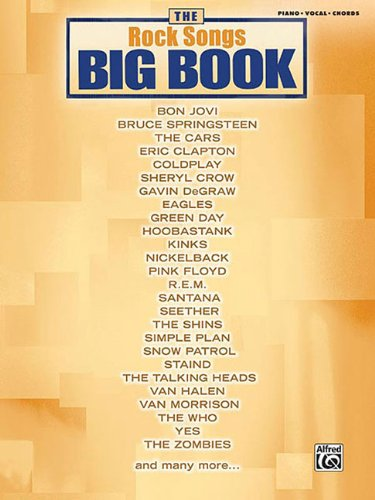 9780739045770: The Rock Songs Big Book: Piano/Vocal/Chords (The Big Book Series)