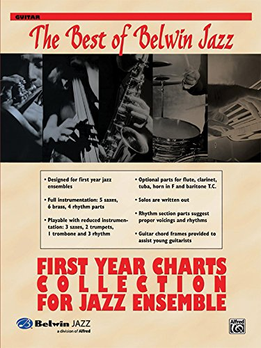 9780739046005: First Year Charts Collection for Jazz Ensemble: Guitar