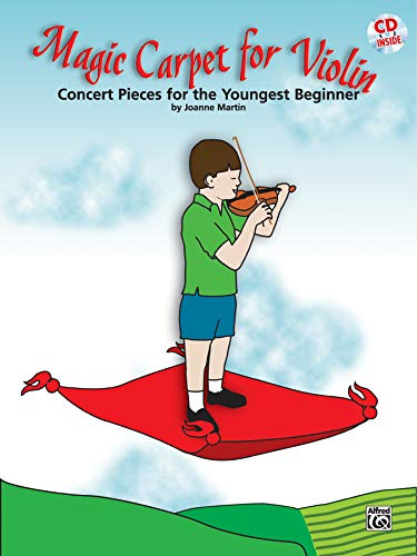9780739046210: Magic Carpet for Violin: Concert Pieces for the Youngest Beginners (Book & CD)