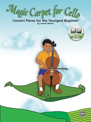9780739046234: Martin Joanne Magic Carpet for Cello Book/CD +CD