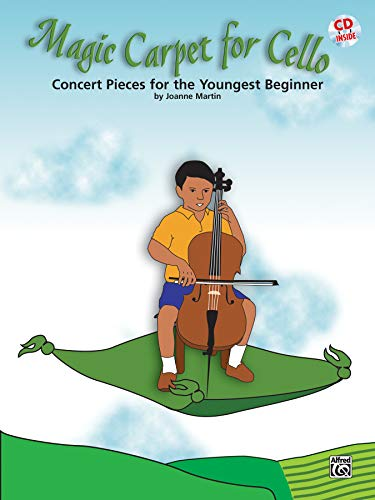 9780739046234: Magic Carpet for Cello: Concert Pieces for the Youngest Beginners, Book & CD