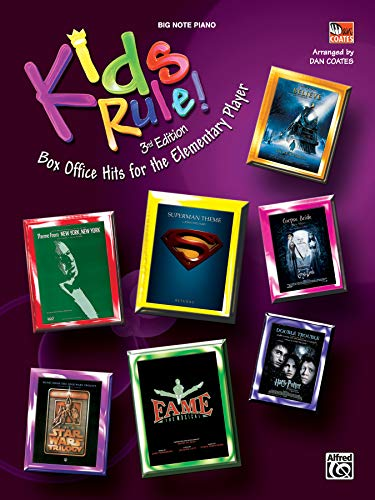 Kid's Rule! 3rd Edition Box Office Hits For The Elementary Player (0739046381) by Dan Coates