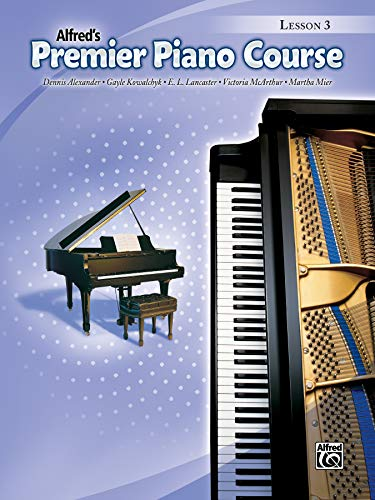 9780739046395: Premier Piano Course Lesson Book, Bk 3