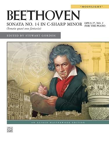 9780739046807: Sonata No. 14 in C-Sharp Minor, Op. 27, No. 2: Moonlight (Alfred Masterworks)