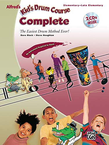 9780739046920: Alfred's Kid's Drum Course Complete: The Easiest Drum Method Ever