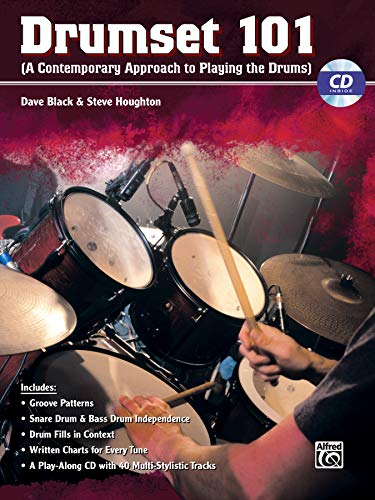 9780739046937: Drumset 101: A Contemporary Approach to Playing the Drums (Book & CD) (101 Series)