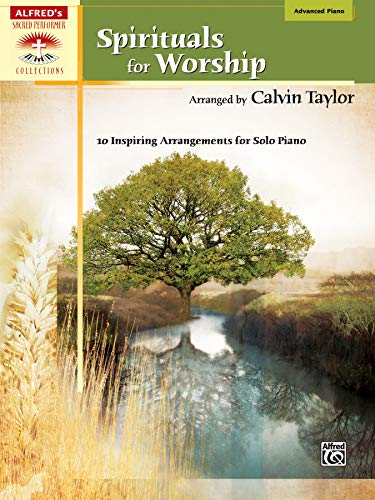 9780739046968: Spirituals for Worship: Advanced Piano