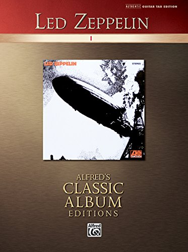 9780739046975: Led Zeppelin I (Guitar Tab Edition)(Alfred's Classic Album Editions)