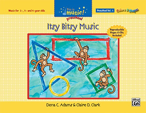 9780739047231: This Is Music! Preschool, Vol 1: Itsy Bitsy Music, Book & CD